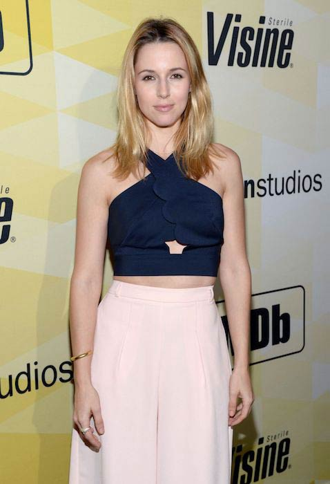 Alona Tal during the 25th Anniversary Party of IMDb in Los Angeles on October 15, 2015