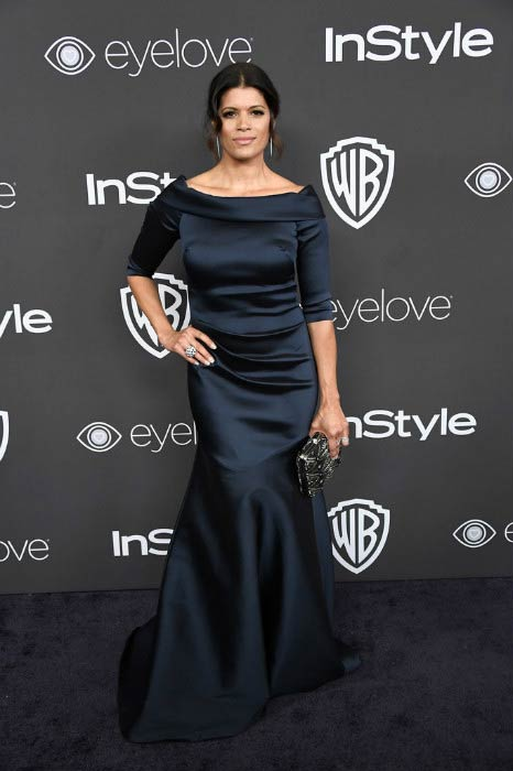 Andrea Navedo at the 18th Annual Post-Golden Globes Party in January 2017