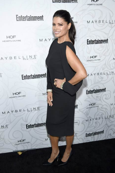 Andrea Navedo at the Entertainment Weekly Celebration of Screen Actors Guild Award Nominees in January 2017