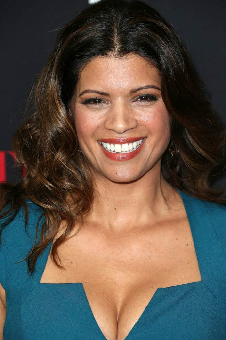 "Andrea Navedo at the Latina Magazine's ""30 Under 30"" Party in November 2014"