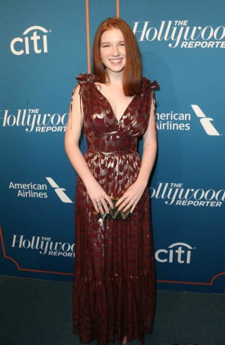 Annalise Basso at The Hollywood Reporter 5th Annual Nominees Night in February 2017