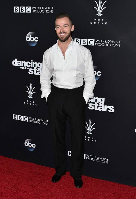 Artem Chigvintsev at the Dancing With The Stars Season 23 Finale in November 2016
