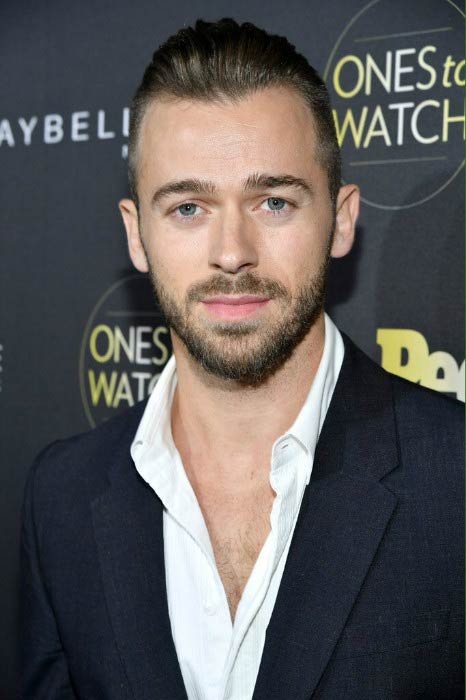 """Artem Chigvintsev at the People's """"Ones to Watch"""" event in October 2016"""
