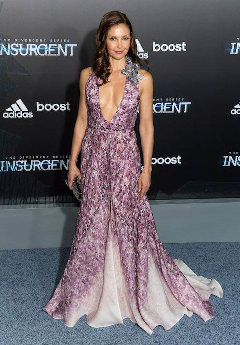 """Ashley Judd at """"The Divergent Series: Insurgent"""" premiere in New York in March 2015"""