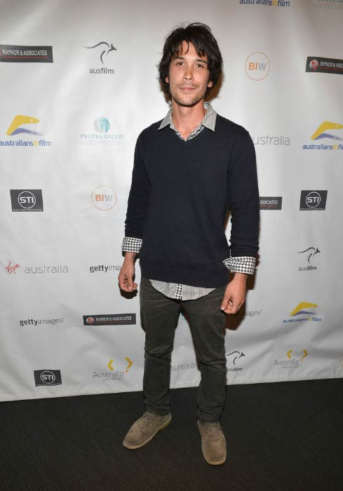 Bob Morley at the screening of Revival Film Company's Blinder in April 2013