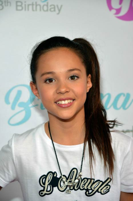 Breanna Yde at her 13th Birthday Party in June 2016