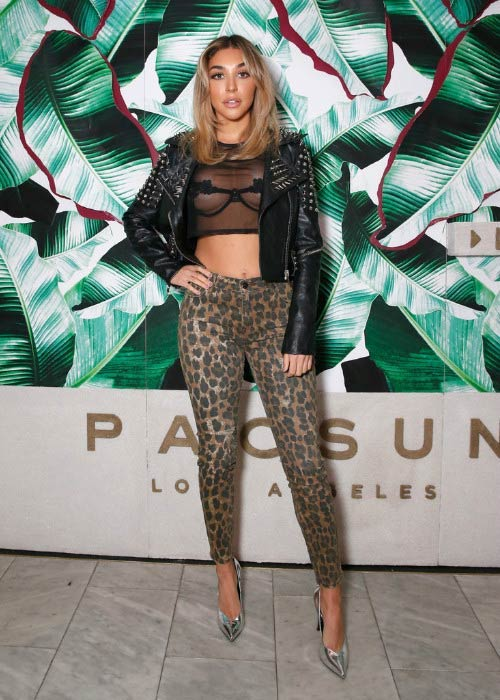 Chantel Jeffries at the Spring Swimwear Collection event in January 2017