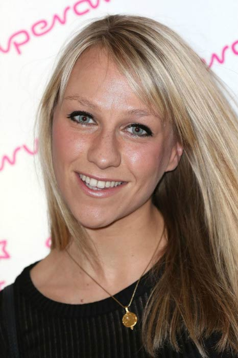 Chloe Madeley at the Superdrug 50th Birthday celebration in April 2014