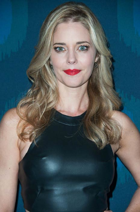Christina Moore at the Fox All-Star Party in January 2015