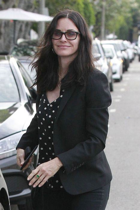 Courteney Cox as seen in February 2017