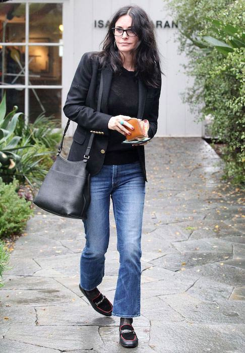 Courteney Cox street style out in LA in December 2017