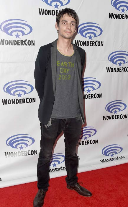 Devon Bostick at The 100 panel at WonderCon in March 2016