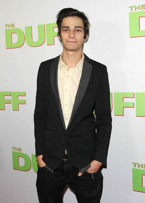 Devon Bostick at the special Los Angeles fan screening of THE DUFF in February 2015