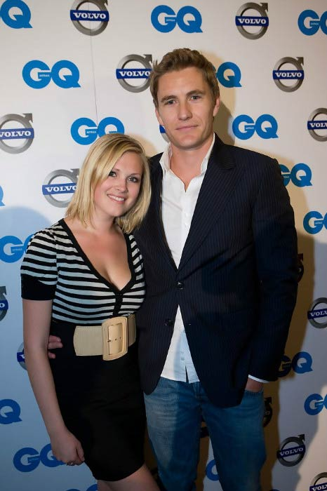 Eliza Taylor and Brett Tucker at the Volvo GQ Men of the Year Awards in September 2008