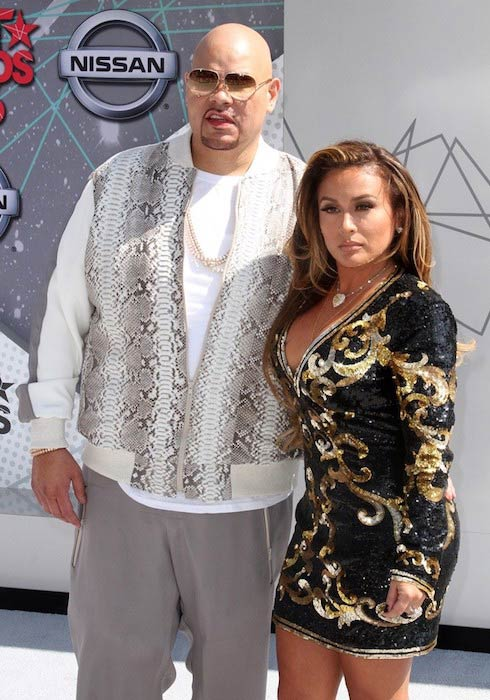 Fat Joe and Lorena Cartagena at BET Awards 2016