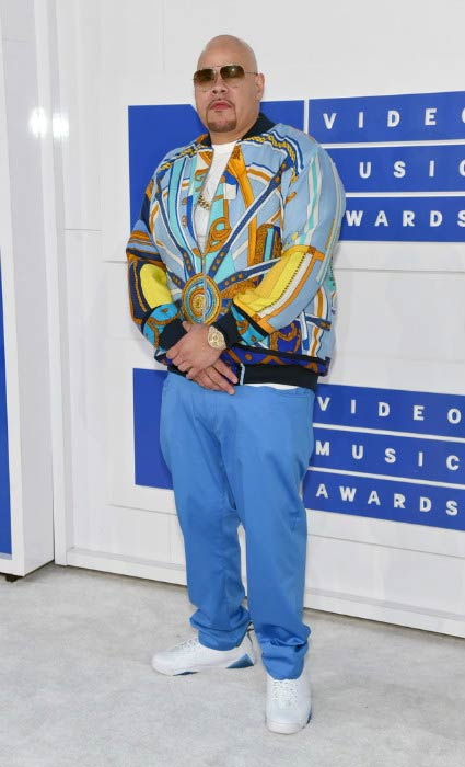 Fat Joe at the MTV Video Music Awards in August 2016