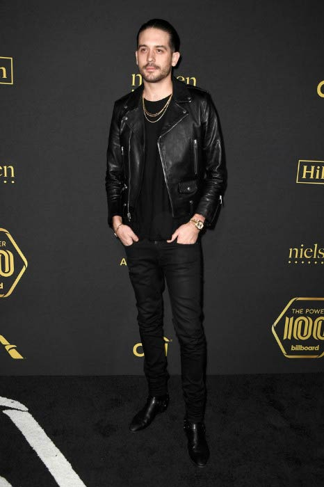 G-Eazy at Billboard Power 100 - Red Carpet in February 2017