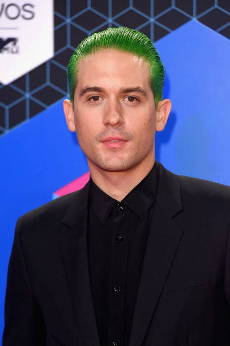 G-Eazy at the MTV Europe Music Awards in November 2016 in Rotterdam, Netherlands
