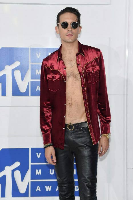 G-Eazy at the MTV Video Music Awards in August 2016