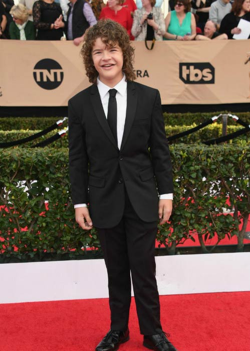 Gaten Matarazzo at the 2017 Screen Actors Guild Awards