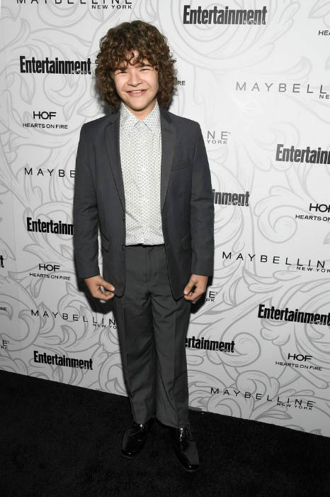 Gaten Matarazzo at the Entertainment Weekly Celebration of SAG Awards in January 2017