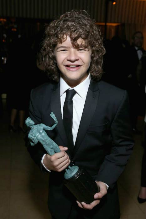 Gaten Matarazzo at The Weinstein Company & Netflix's SAG After Party in January 2017