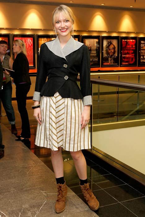 """Georgina Haig at the """"Wasted On The Young"""" premiere during 35th Toronto International Film Festival in September 2010"""