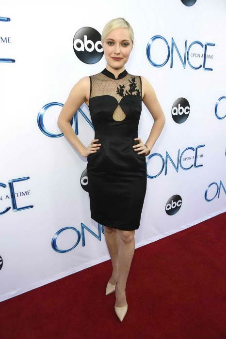 Georgina Haig at the screening of ABC's Once Upon A Time Season 4 in September 2014