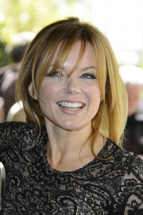 Geri Halliwell at the Ivor Novello Awards in May 2013