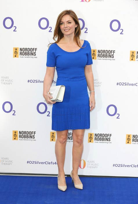 Geri Halliwell at the Nordoff Robbins 02 Silver Clef Awards in July 2015
