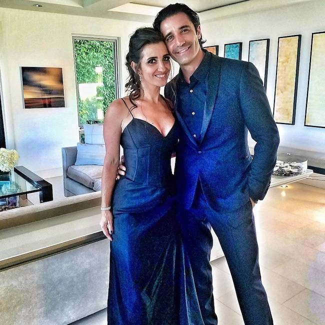 Gilles Marini with wife Carole