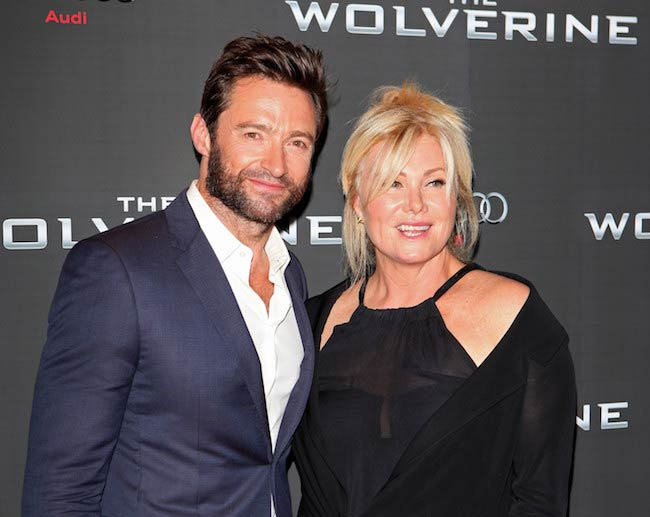 Hugh Jackman and his wife Deborra-Lee Furness