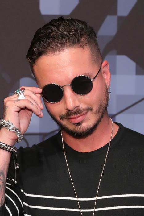J Balvin at the Tommy Hilfiger Spring 2017 Men's Tailored Collection Presentation
