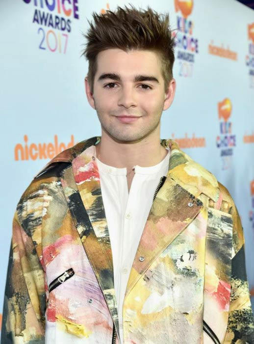 Jack Griffo at the Nickelodeon's 2017 Kids' Choice Awards
