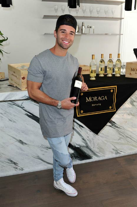 Jake Miller at the GBK Pre-OSCAR Luxury Lounge event in February 2017
