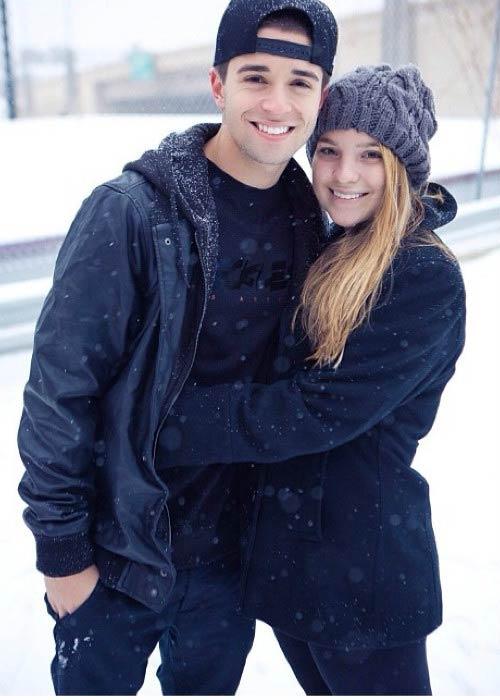 Jake Miller and Madison Bertini