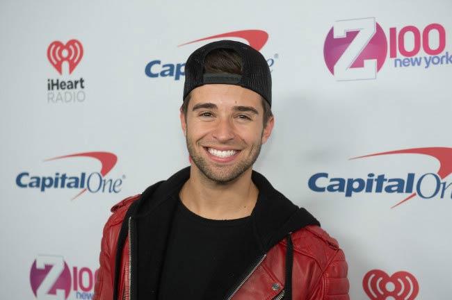Jake Miller at the Z100's iHeartRadio Jingle Ball in December 2016