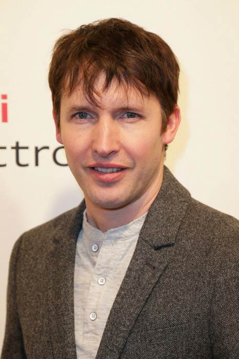 James Blunt at the Audi Night in January 2014 in Austria
