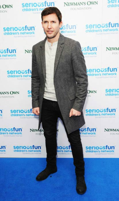 James Blunt at the SeriousFun London Gala in December 2013