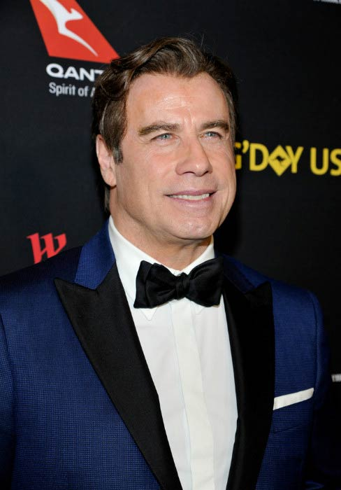 John Travolta at the G'Day Black Tie Gala in January 2017