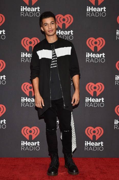 Jordan Fisher at the 2016 iHeartRadio Music Festival