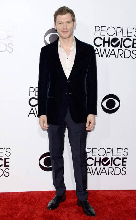 Joseph Morgan at the People's Choice Awards in January 2014