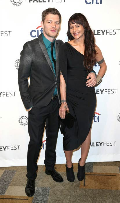 Joseph Morgan and Persia White at The Paley Center for Media's PaleyFest 2014 event