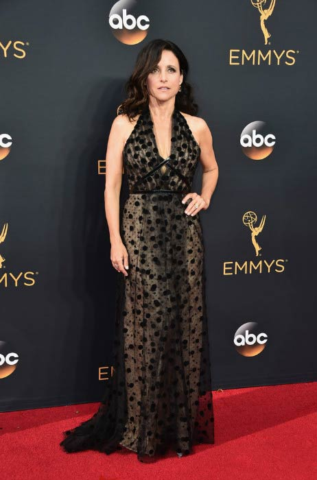 Julia Louis-Dreyfus at the 2016 Primetime Emmy Awards