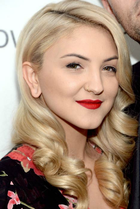 Julia Michaels at the first annual Girls To The Front event benefiting Girls Rock Camp Foundation in April 2016