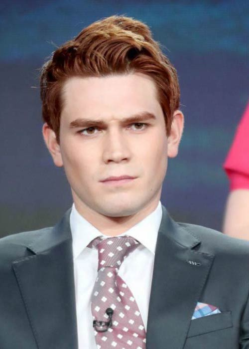 KJ Apa at the Winter Television Critics Association Press Tour in January 2017