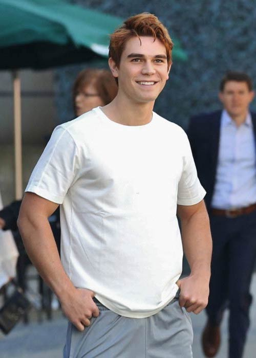 KJ Apa out for a walk in Vancouver in September 2016