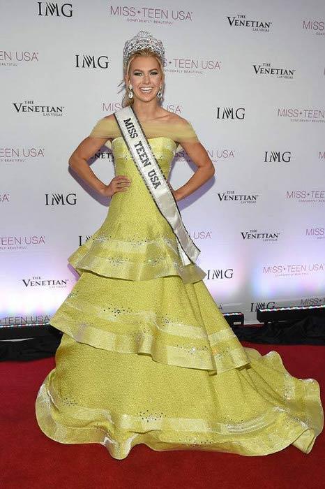 Karlie Hay after being crowned Miss Teen USA in July 2016