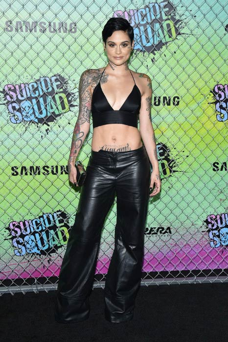 Kehlani at the Suicide Squad premiere in August 2016