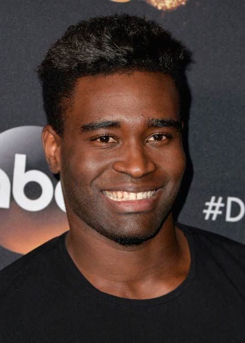 "Keo Motsepe at the premiere of ABC's ""Dancing with the Stars"" season 20 in West Hollywood in March 2015"